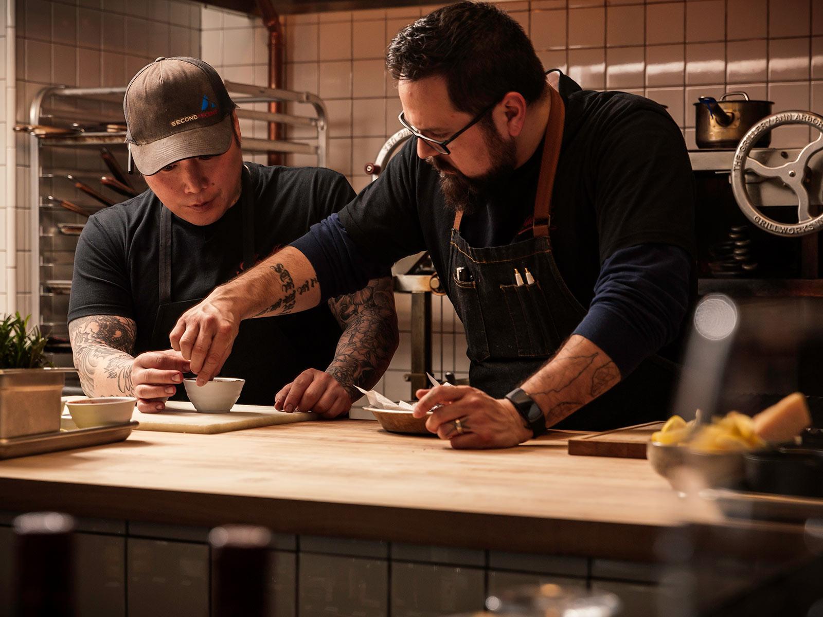 Chefs at Glorietta Trattoria in Jackson Hole