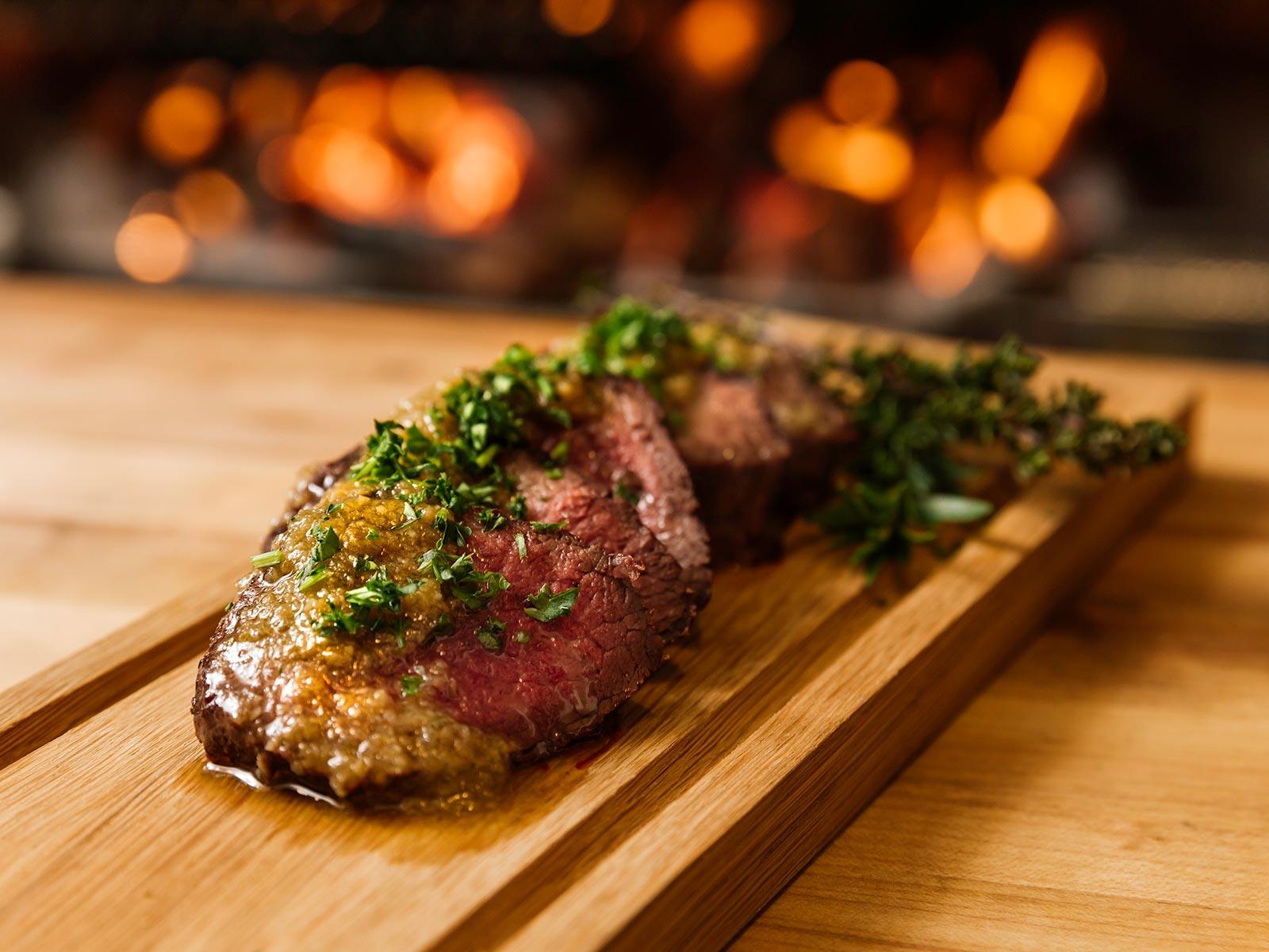 Steak at Glorietta Italian Restaurant