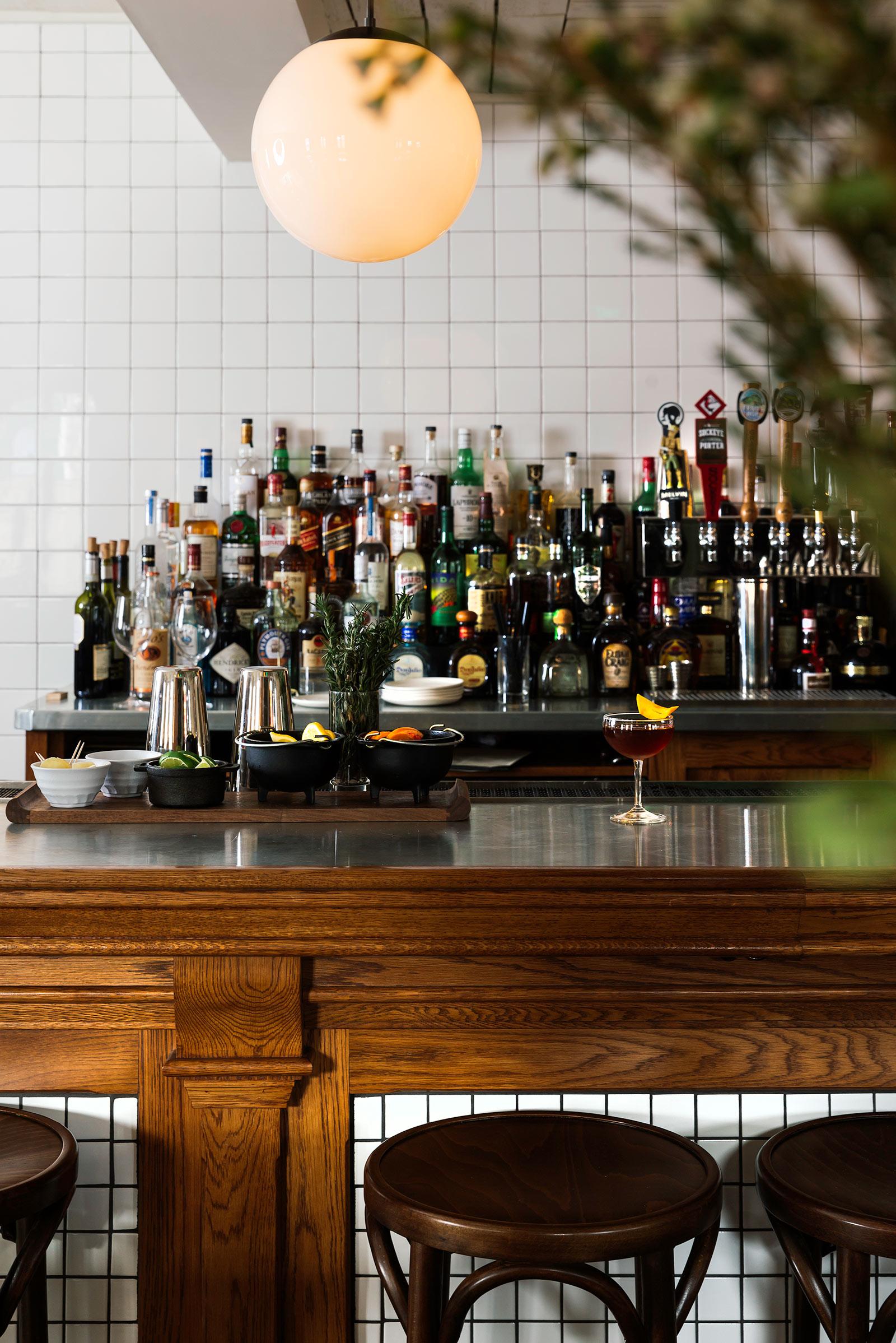 Bar at Anvil Hotel