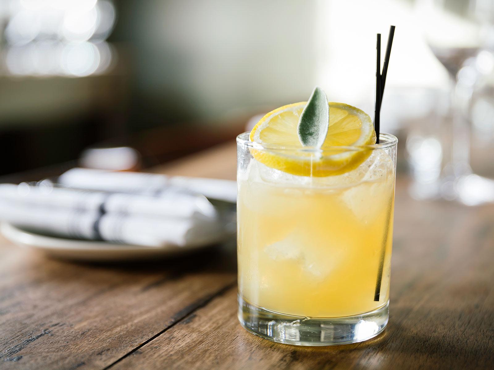 Cocktail at Jackson Hole Restaurant