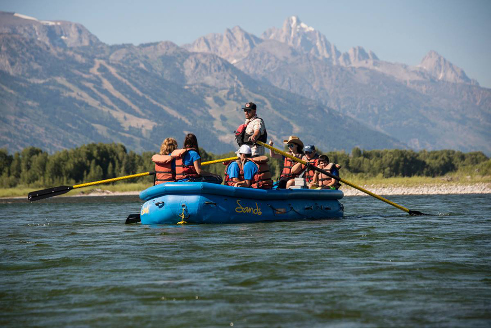 Boat Tour of Grand Teton National Park
