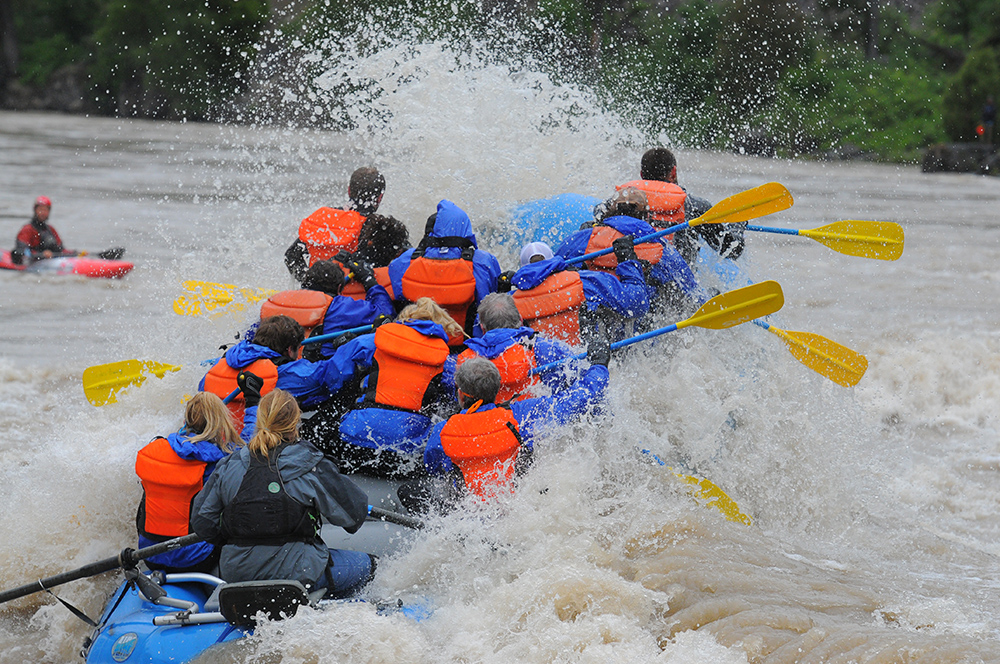 White Water Rafting at the Snake River