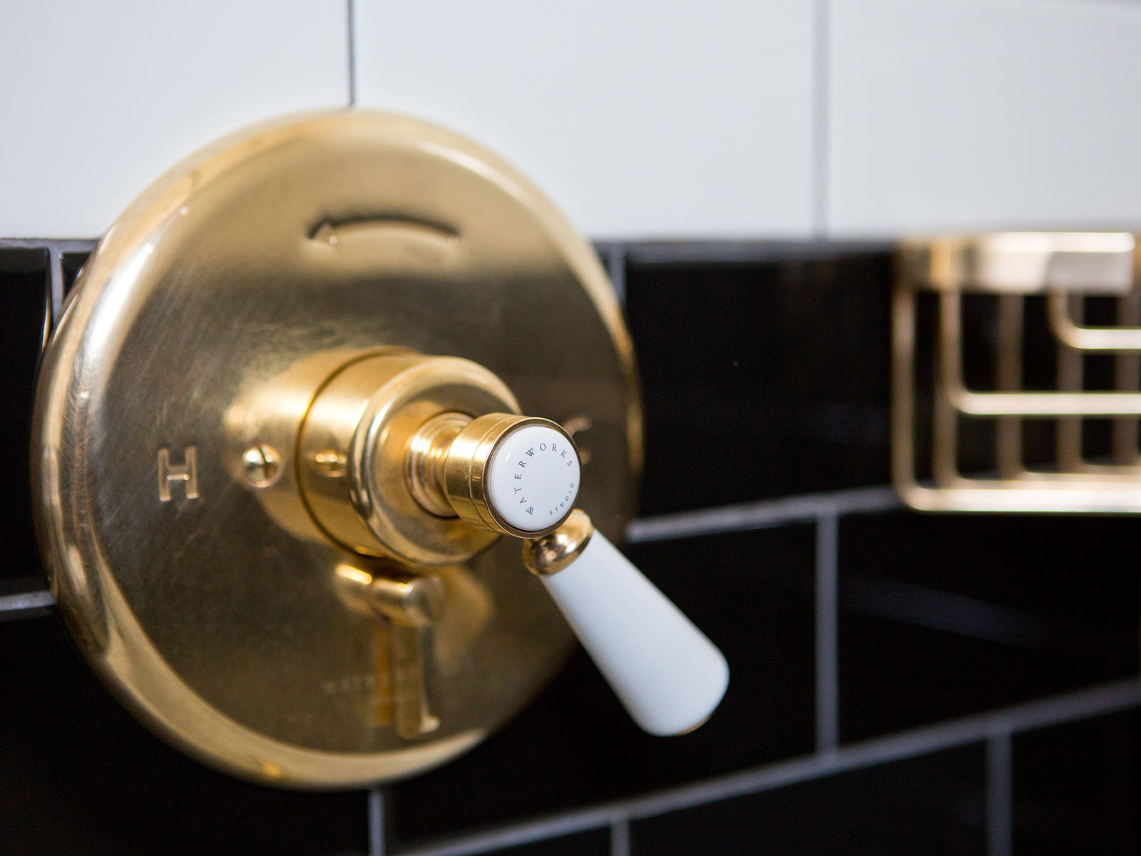 Bathroom Details at Anvil Hotel