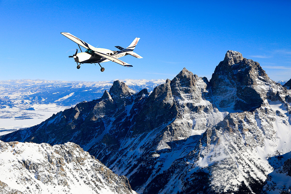 Plane Tour of Grand Teton National Park