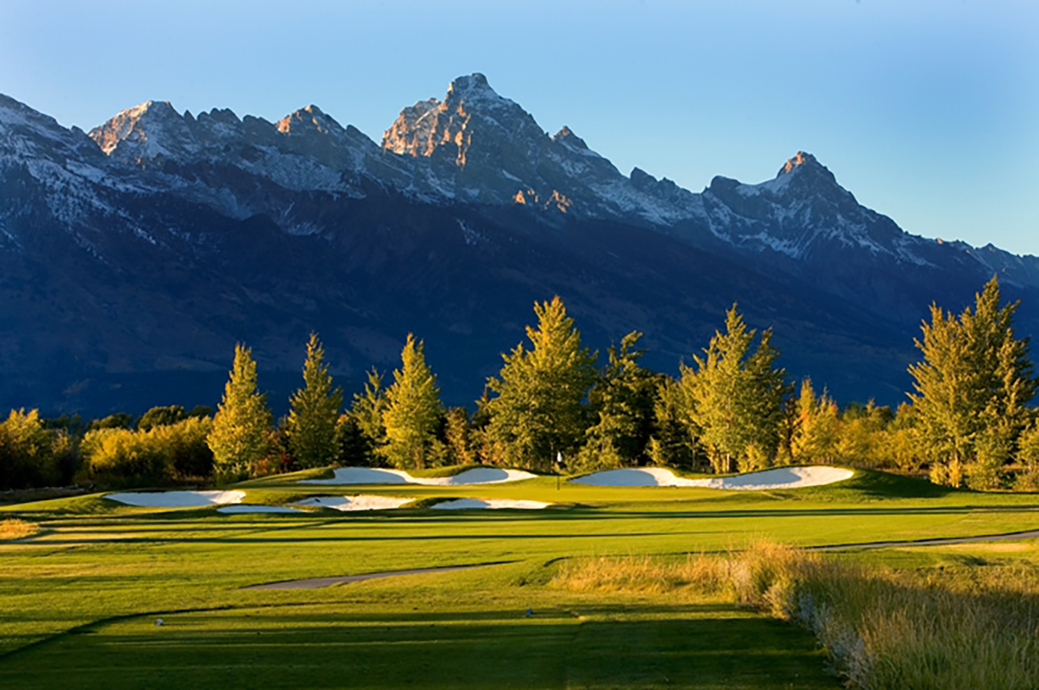Golf near the Jackson Hole Hotel