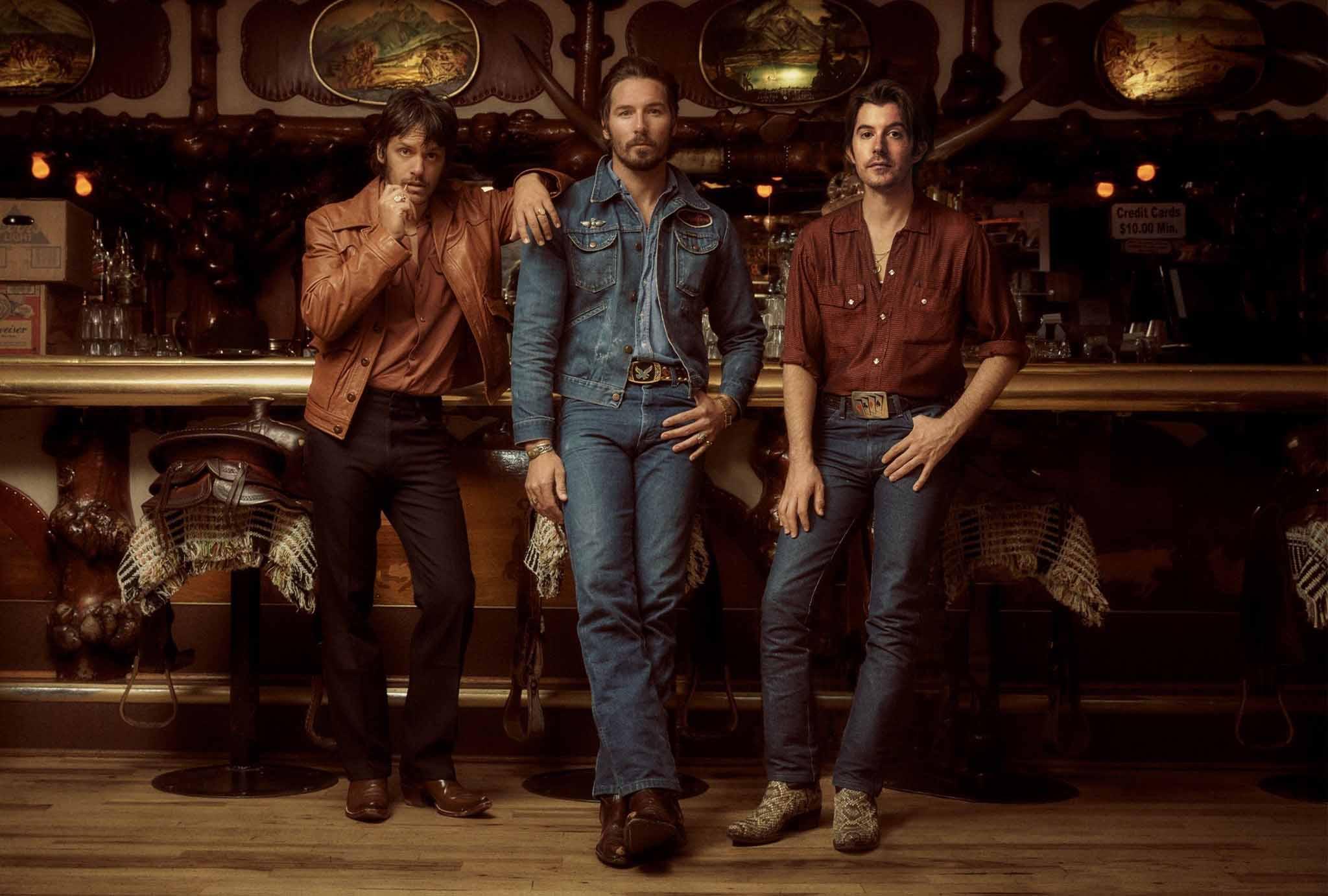 Country band Midland at Cowboy Bar