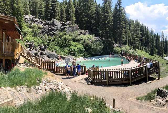 Hot Springs Near Anvil Hotel