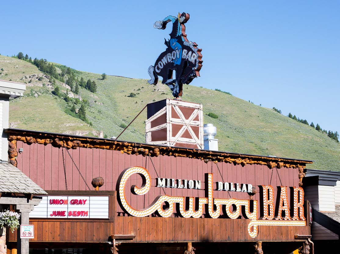 Million Dollar Cowboy Bar in Jackson Hole