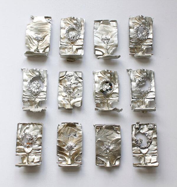12 Sculptures by Brice Garrett