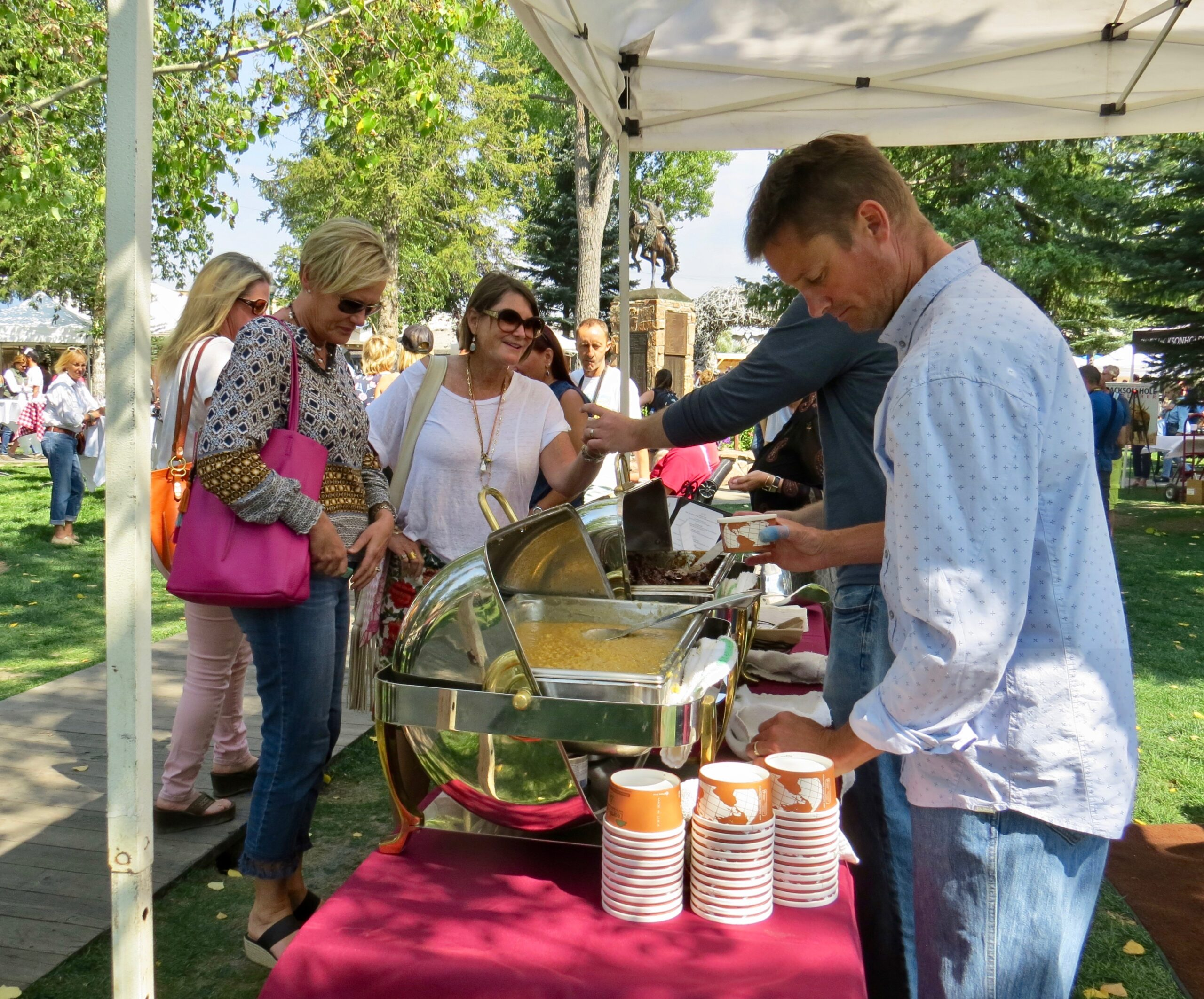 Taste of the Tetons in Jackson Hole Town Square